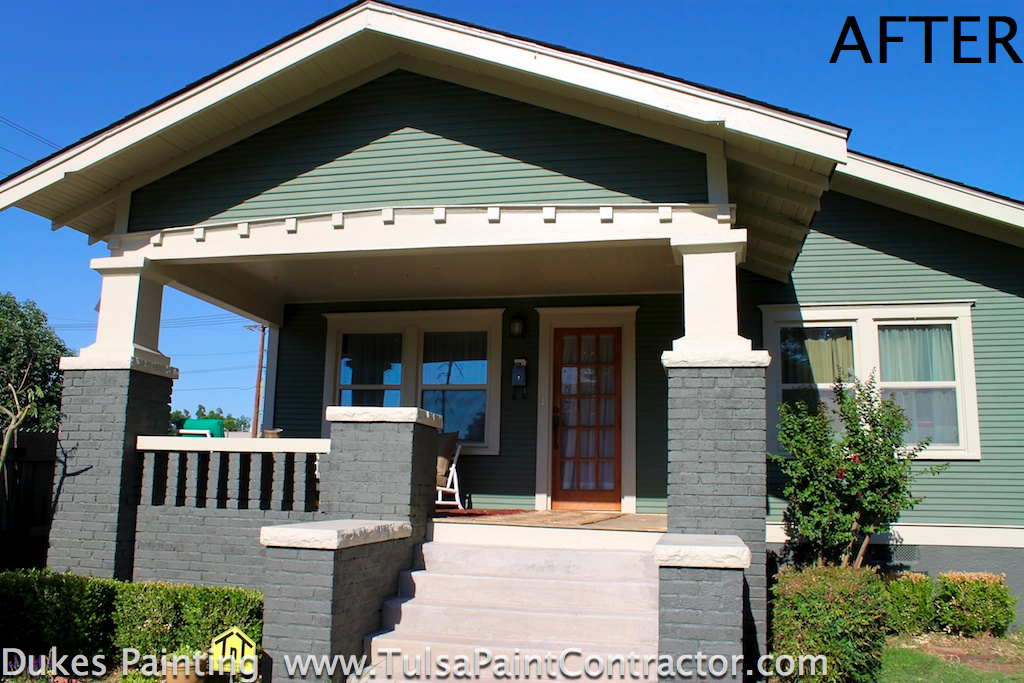 Very Thick Exterior Paint