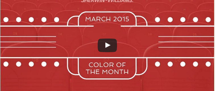 March 2015 Color Of The Month Tanager Sherwin Williams