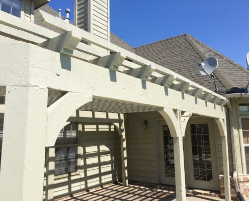 Pergola Painting in tulsa