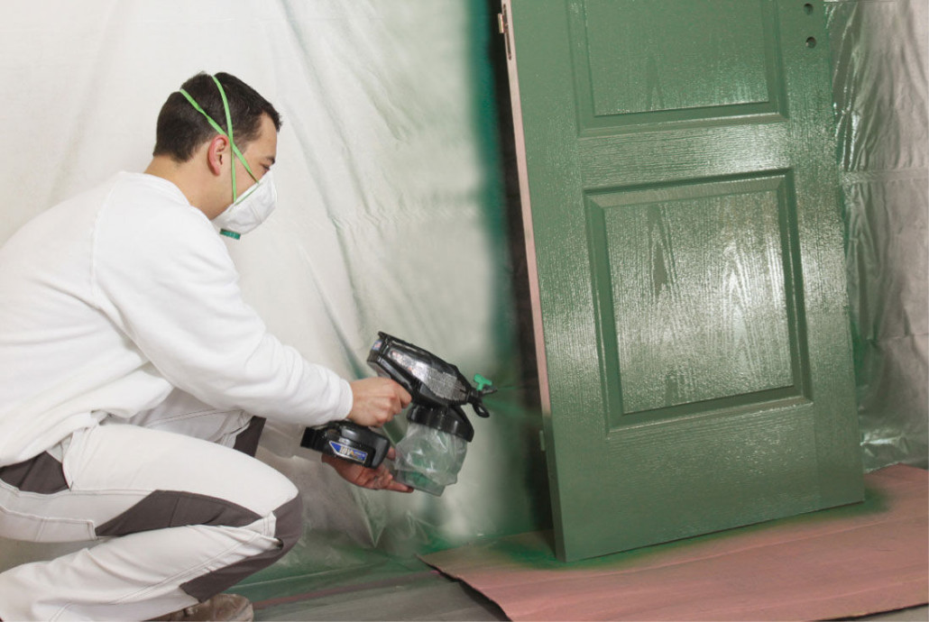 Paint Walls With Paint Sprayer