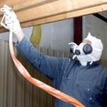 Interior airless paint sprayer guy